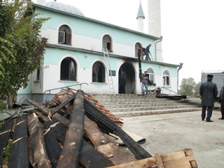 Восстановленную после пожара мечеть в Крыму откроют к Рамадану