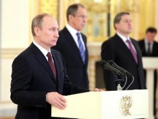 Путин напутствовал новых послов