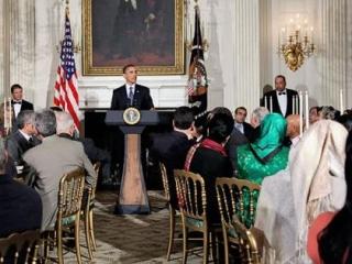 Ифтар, организуемый Обамой