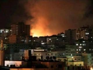 Израиль нанес десятки ударов по сектору Газа, есть раненные