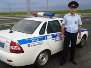 На Кавказе полицейский спас 28 человек из  горящего автобуса