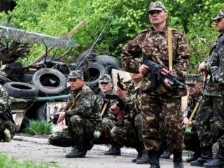 Нацгвардия Украины пытается отрезать ополченцев от России