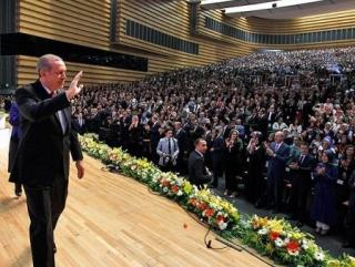 У премьер-министра Реджепа Тайипа Эрдогана сохраняется высокий рейтинг