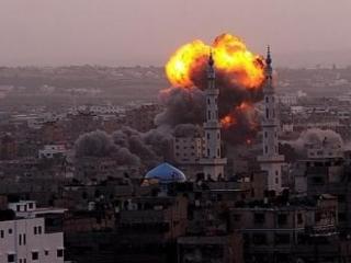 В результате израильской атаки пострадали как минимум 11 палестинцев