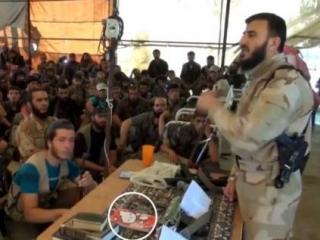 Лидер сирийских повстанцев – любитель Hello Kitty?