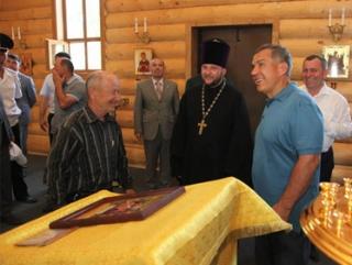 В Татарстане открыли восстановленную мусульманами церковь