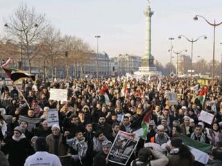 Тысячи людей во всем мире вышли на протест против Израиля