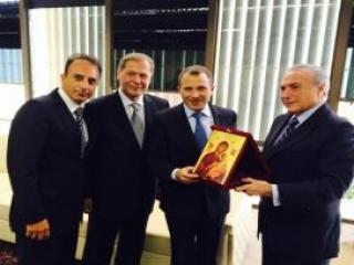 Ливанский министр побывал на ифтаре у бразильского мэра-араба