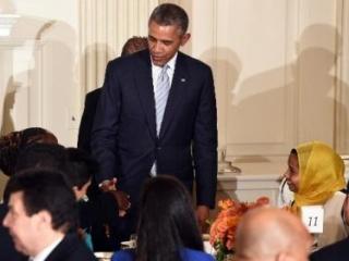 На ифтаре в Белом доме Обама поддержал Израиль