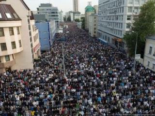 Намаз в Москве