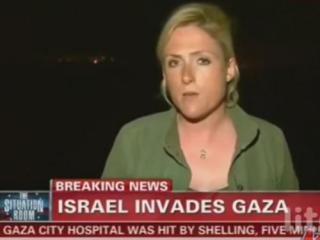 Израильтяне пригрозили уничтожить машину съемочной группы CNN, если журналисты будут освещать атаку Газу не с позиции Израиля