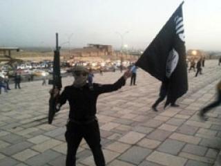 Боевик «Исламского государства» в одном из захваченных городов