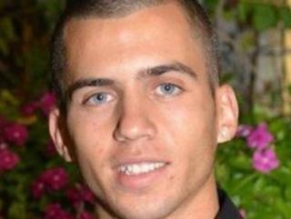 Плененный палестинцами израильский военный Шауль Арон
