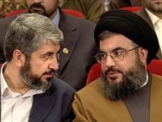 Халед Машааль и Хасан Насралла