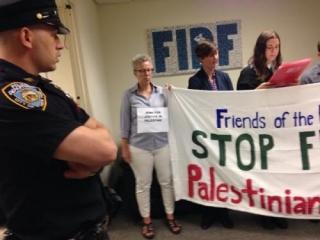 В Нью-Йорке арестовали группу евреев-противников войны в Газе