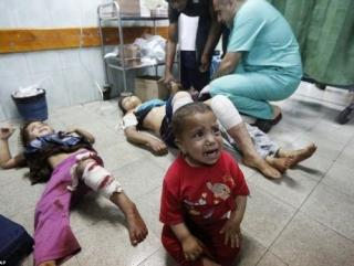 В Газе каждый час гибнет ребенок