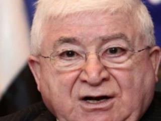 Новоизбранный президент Ирака Фуад Масум