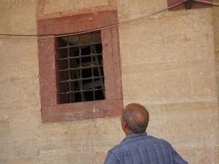 Окно «таинственной» комнаты в мечети Селимие