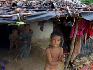 Беженцы рохинья