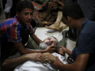 Израильские силовики разбомбили рынок в секторе Газа