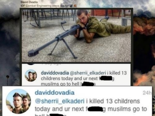 Израильский снайпер похвалился убийством 13 детей в Газе