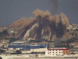 Газа под израильским огнем