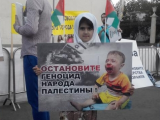 Дядям в Тель-Авиве: «Я — не цель, я ребенок!»