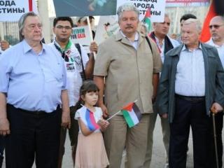 Слева направо: Александр Проханов, Сергей Бабурин и Олег Фомин
