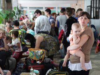 Москву и область закрыли для украинских беженцев