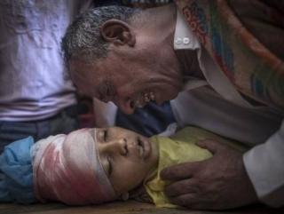 Первой жертвой после 72-часового перемирия в Газе стал ребенок