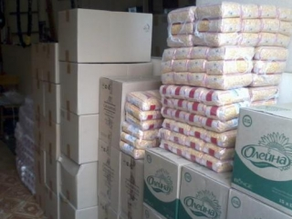Мусульмане Татарстана помогли украинским беженцам продуктами