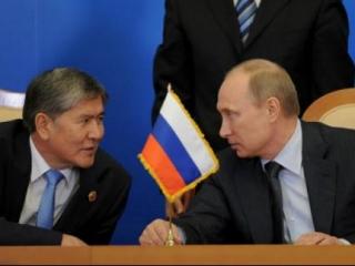 Путин обсудит с Атамбаевым присоединение Киргизии к ТС