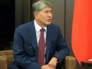 Алмазбек Атамбаев в ходе переговоров с Владимиром Путиным