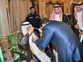Саудовский король наградил Сиси орденом