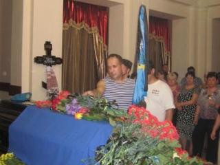 В УПЦ МП отпели украинского десантника, убиенного «террористами»