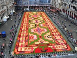 Турецкий ковер в Брюсселе…расцвел
