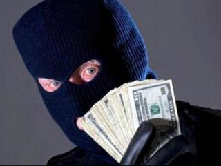 Грабители выкрали более 300 тыс долл.