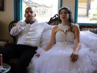 Араб и еврейка сыграли свадьбу под охраной спецназа
