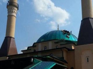 Купол мечети подлежит полной замене