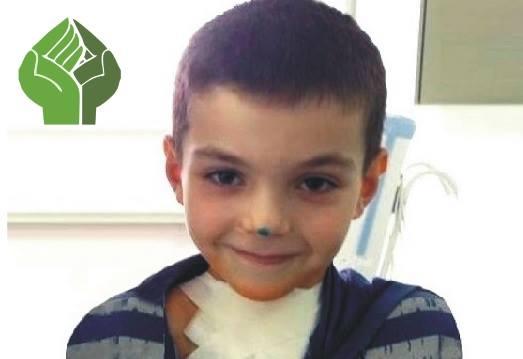 На лечение мальчика необходимо собрать 652 тыс. руб.
