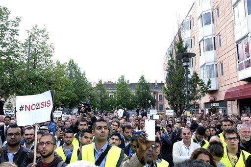 Демонстрация в Норвегии