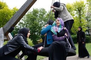 Хиджаб в знак протеста против исламофобии