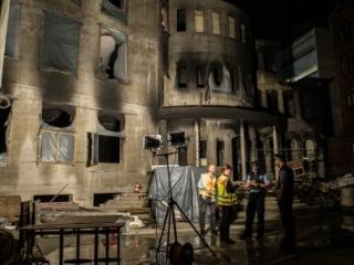 Пожар в мечети Берлина