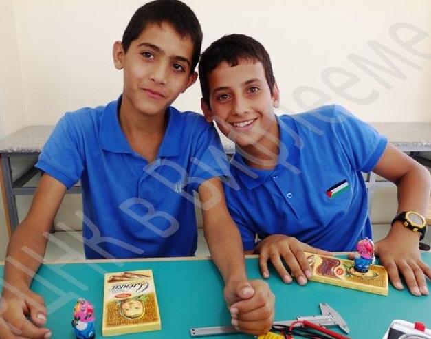 Ученики русской школы в Вифлееме (Фото: РЦНК в Палестине)