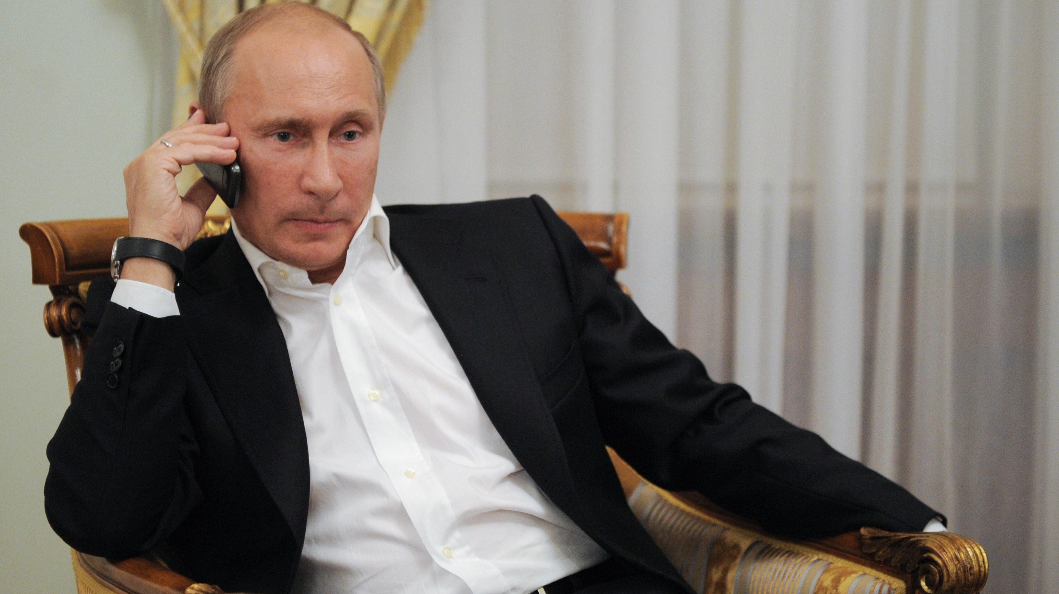 Путин проведет телефонный разговор в «нормандском формате»