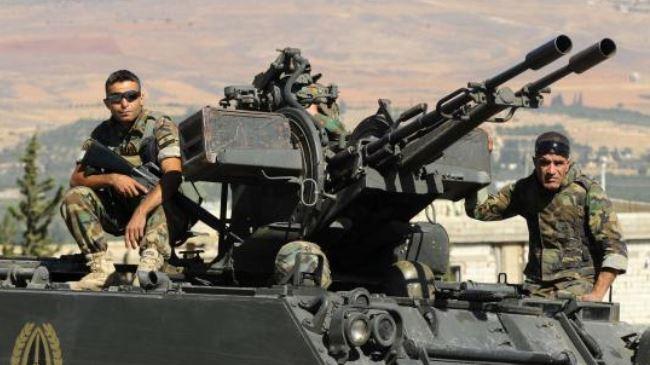 Ливанские военнослужащие