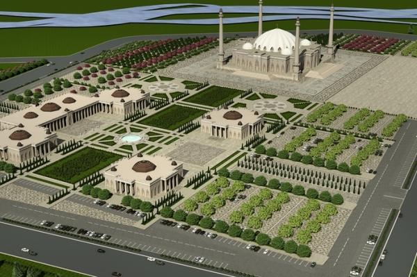 Строительство Соборной мечети обсудили на высоком уровне