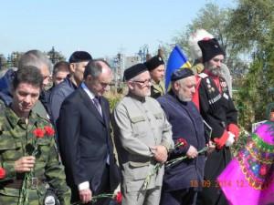 Казаки и мусульмане почтили память первой жертвы конфликта в Крыму