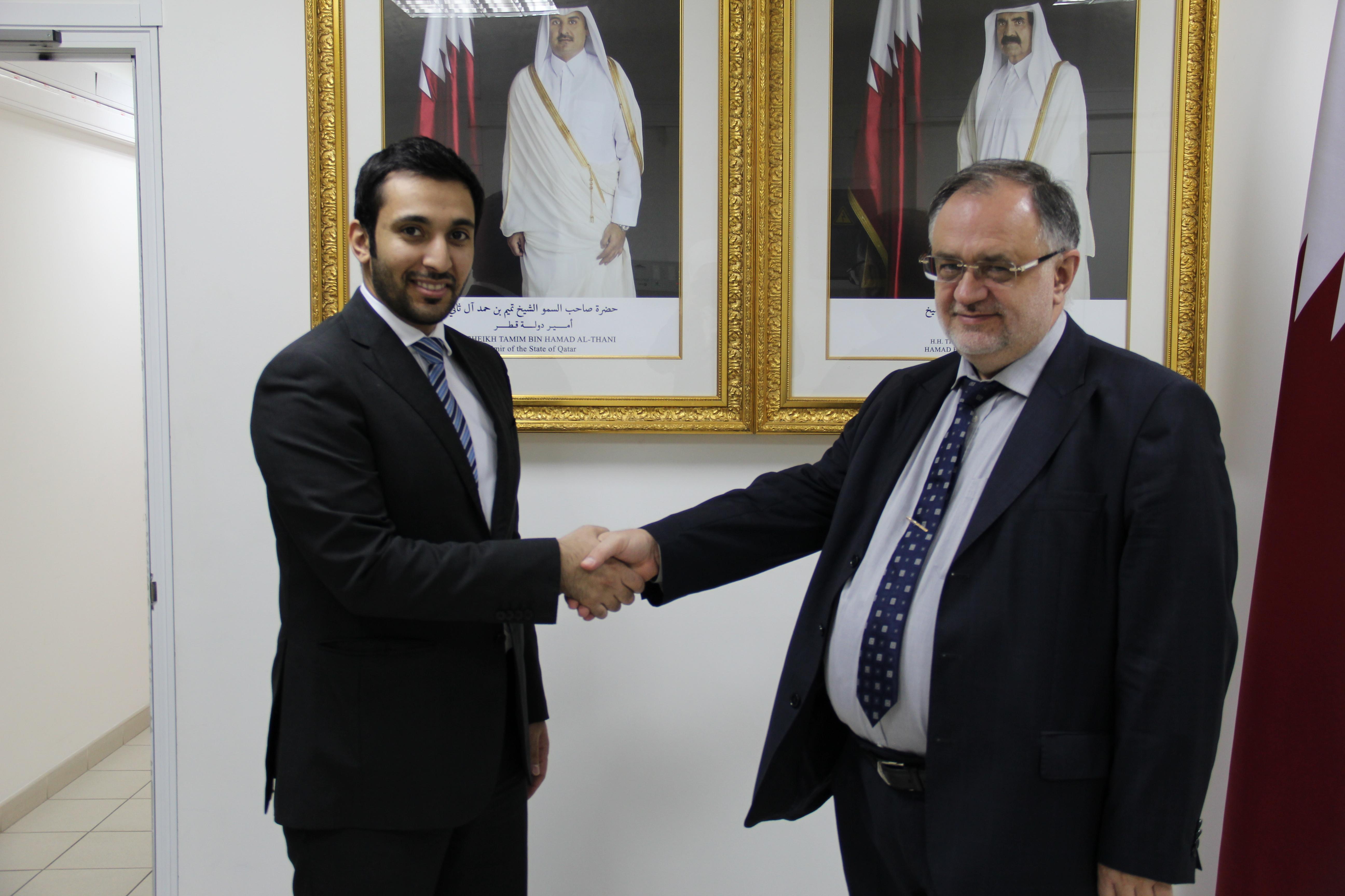 Встреча в дипведомстве Катара