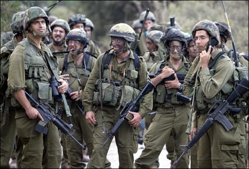 Военнослужащие израильской армии